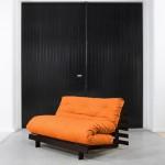 Schlafsofas mit Futonmatratze (Farbe Orange) © Karup.eu