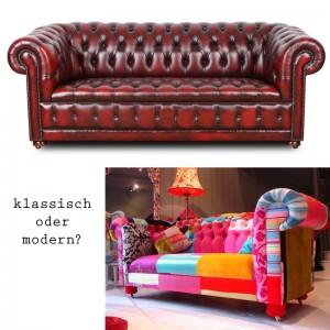 Chesterfield klassisch oder modern chesterfield-sofas.de und http://www.vonwilmowsky.com